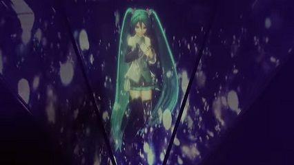 東京ドーム:BUMPと初音ミクさん「ray」のライブ動画