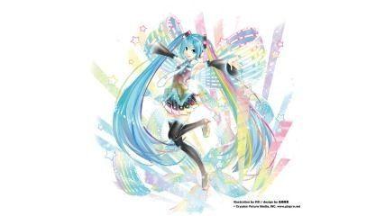 フィギュア「1/7 初音ミク 10th Anniversary Ver.」彩色原型